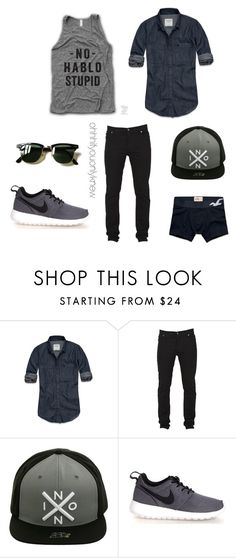 Untitled #230 by ohhhifyouonlyknew on Polyvore featuring Abercrombie & Fitch, Cheap Monday, Nixon, NIKE, Hollister Co., Ray-Ban, men's fashion and menswear