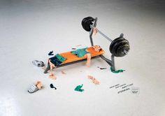 Villa Forma Gym: Bench-press