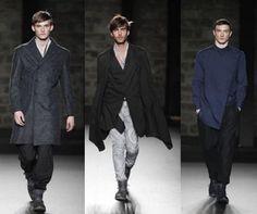 Aquí os traemos hoy una buena colección de moda masculina de la mano del diseñador Josep Abril para invierno 2013.