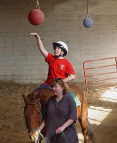 work on a hippotherapy farm