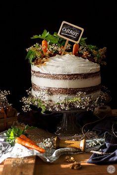 Mini Cakes, Cupcake Cakes, Nake Cake, Carrot Cake Decoration, Zucchini Cake, Salty Cake, Food Cakes, Savoury Cake, Cake Mold