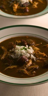 The authentic recipe for Gumbo YaYa from Mr. B's Bistro.  You can't taste this dish and not think of New Orleans!