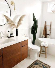 #YellowBathroomAccessories Bathroom Counter Decor, Bathroom Wall Lights, Modern Bathroom Decor, Chic Bathrooms, Bathroom Interior, Small Bathroom, Bathroom Tray, Furniture In Bathroom, Apartment Bathroom Decorating