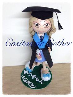 Fofucha de graduación.