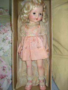 darling-dolls:  1950s Effanbee Tintair Doll