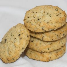 Parmesan Thyme - yes...it's a cookie!  A delicious, savory cookie that is great on a cheese tray, next to your salad or soup or paired with Wine: Cabernet Sauvignon or Prosecco --- Beer: Belgian Ale or Amber Ale --- Tea: Keemun Black Tea.  www.cookiesandcorks.com