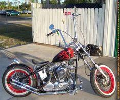 1982 Harley Davidson Sporster / Paughco Bobber, Punta Gorda, Florida.  www.ironhead-bobbers.com