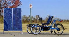 Runabout Cycles creates builds custom electric recumbent trikes.