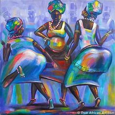 Ghanaian Contemporary African Artwork by Amakai