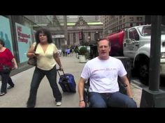 NextStep's Wheelchair for a Day - Jeff Chapski - YouTube