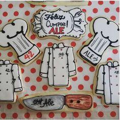 "Adoré cookies on Instagram: ""#chef #chefcookies #galletasparaelchef"""