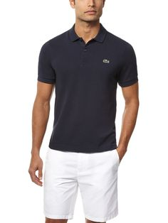 LACOSTE  L!ve Ultraslim Solid Pique Polo