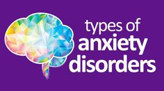 The Different Types Of Anxiety And Their Symptoms... https://www.youtube.com/watch?v=Y1JFfEkyoqc
