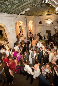 Mikkel Paige Photography photos of a wedding at Brooklyn's Prospect Park Boathouse in NYC.
