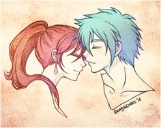 """cheschire-kaat: """" beaglecakes: """" Quick doodle of Erza & Jellal! """" This. Fuck I think it's the 10th time I reblog. This is just so amazing afagsfsghafsgh. Thought I could comment appropriately for once. This is seriously one of my all-time..."""