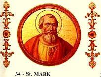 Marcos (em latim, Marcus) foi Papa entre 18 de janeiro de 336 até 7 de outubro de 336. É tido por romano, mas pouco se conhece da sua vida. Papa de numero 34