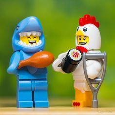 Ora do rango Legos, Minifigura Lego, Lego Craft, Lego Robot, Lego Man, Lego Stormtrooper, Lego Humor, Lego Jokes, Pokemon