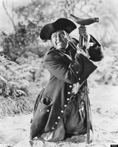 OP: Actor Robert Newton starred as fictional pirate Long John Silver in one of the films based on Robert Louis Stevenson's classic children's novel Treasure Island, circa (Silver Screen Collection/Hulton…) Pirate Talk, Pirate Life, Robert Newton, Long John Silver, Adventure Film, Pirate Treasure, Jolly Roger, Long Johns, Pirates