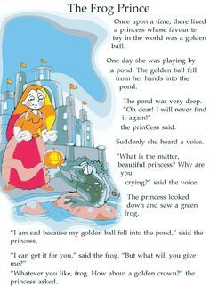 Grade 2 Reading Lesson 12 Fairy Tales Frog Prince You are in the right place about famous Short Stories Here we offer you the most beautiful pictures about the Short Stories in hindi you are looking f Small English Story, English Moral Stories, English Stories For Kids, Short Moral Stories, Kids English, English Reading, English Store, English English, Small Stories For Kids