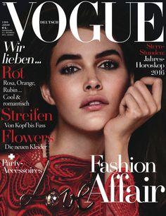 Publication: Vogue Germany January 2016 Model: Vanessa Moody Photographer: Giampaolo Sgura
