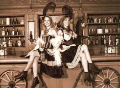 wild west saloon girls - Google zoeken                                                                                                                                                      More
