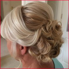 Mother Of The Groom Hairstyles, Mother Of The Bride Hairdos, Mom Hairstyles, Short Hairstyles For Women, Wedding Hairstyles, Hairstyle Ideas, Updos For Medium Length Hair, Medium Hair Styles, Short Hair Styles