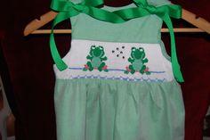 Hand Smocked Children's Dress