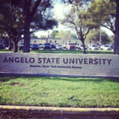 Angelo State University in San Angelo, TX