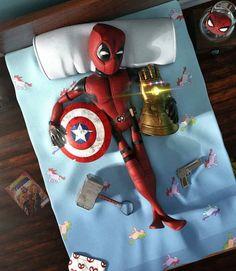 Deadpool loves his life Marvel Memes, Marvel Dc Comics, Marvel Avengers, Spiderman Marvel, Deadpool Pikachu, Deadpool Art, Deadpool Wallpaper, Avengers Wallpaper, Wallpaper Animé