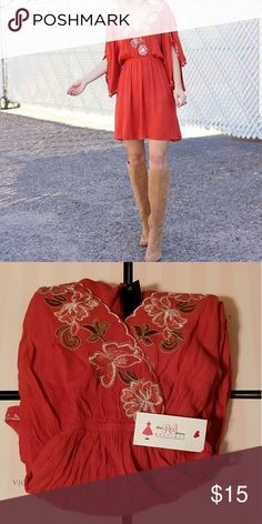 New dress New w tags.  Size small. Smoke free home The Red Dress Boutique Dresses Mini