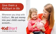 KidStart - Did you know we put money into your kids savings accounts when you shop (scheduled via http://www.tailwindapp.com?utm_source=pinterest&utm_medium=twpin&utm_content=post5356412&utm_campaign=scheduler_attribution)