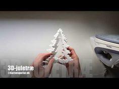Juletræer i perler - med eller uden lys - @Karensperler@Karensperler