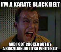 That's because Jiu Jitsu is SO much better!