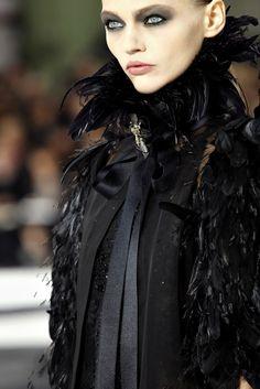 Sasha Pivovarova Catwalk