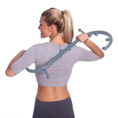 Body Back Buddy Grey is a trigger point massager designed for the entire body. Provides relief from chronic pain or stress. Easy to use.