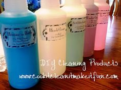 CiCiMiF: DIY Cleaning Products