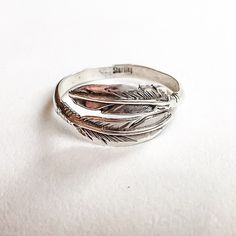 Navajo Feather Ring   Bohemian Gypsy Jewelry   Boho Festival Jewellery   Tribal   Hippie Style Fashion   Indie and Harper