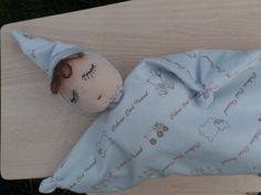 Baby crib toy (sleepy toy) by LittleDollsBySzandra on Etsy