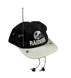 6762ec2188a Vintage Los Angeles Raiders AM   FM Radio NFL Sportswear Snapback Hat