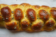 Butternut Squash and Sage Challah