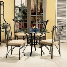 Parkway Five Piece Dining Set By World Imports Available At RoyalFurniture. Com