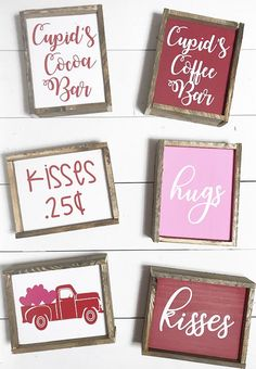 Excited to share this item from my shop: Valentine's Day / home decor signs / coffee bar signs / winter decor / wood signs / cocoa bar signs / rae dunn decor / tiered tray dunn valentines day decor Your place to buy and sell all things handmade Valentines Day Decorations, Valentine Day Crafts, Holiday Crafts, Valentines Sweets, Kids Valentines, Valentine Ideas, My Funny Valentine, Valentine's Day Quotes, Mehndi Tattoo