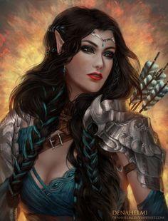 Resultado de imagen para female priest fantasy