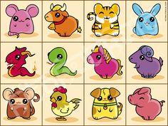 Chinese Zodiac by Kitakutikula.deviantart.com on @DeviantArt