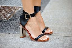 whowhatwear's  ask a stylist @EmilyandMeritt's  must have summer shoes: 1. flat sandals 2. gladiators and lace up heels 3. chunky low heels