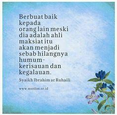Berbuat baiklah kepadasiapapun