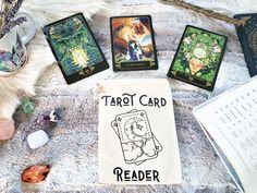 Your place to buy and sell all things handmade Vintage Tarot Cards, Tarot Card Spreads, The Good Witch, Tarot Card Meanings, Modern Witch, Witch Aesthetic, Tarot Readers, Oracle Cards, Card Reader