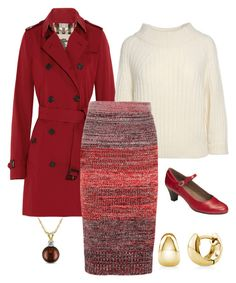 """""""Untitled #403"""" by izzystarsparkle on Polyvore featuring Burberry, 3.1 Phillip Lim, A2 by Aerosoles, Allurez and BERRICLE"""