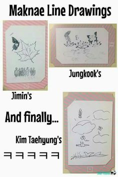 My drawing skills are on V's level... | BTS | BTS | BTS, Bts memes, Bts boys
