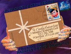 pictures of mail art from Graceful Envelope contest | 2005 Graceful Envelope Contest / Gray-Julie.jpg | Mail Art